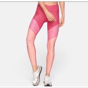 Outdoor voices pink flamingo Small leggings